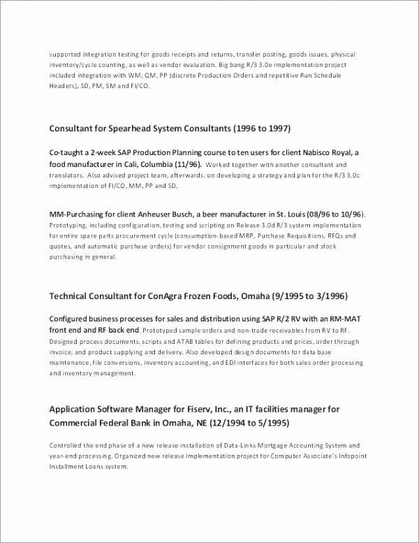 26 Business Development Manager Resume Di 2020 Beautiful