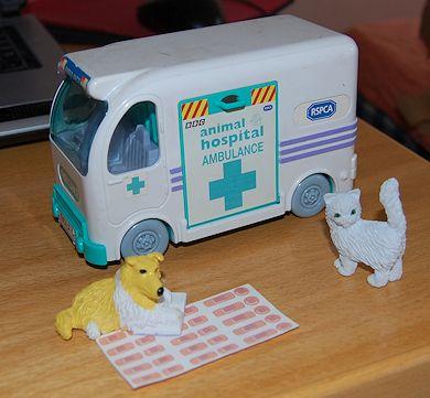 Heal Able Animals Animal Hospital Ambulance Toy Land