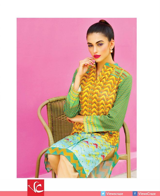 Alkaram Lawn Collection 2015 – Volume 02