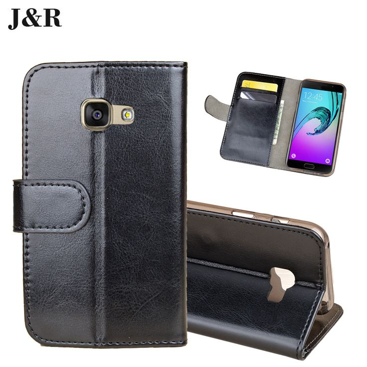 >> Click to Buy << JR For Samsung Galaxy A3 2017 A3200 Case Luxury Original New Leather For Samsung A3 2017 Cover Kickstand Phone Shell In Stock #Affiliate