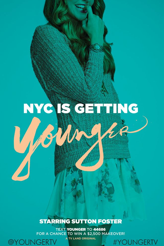 Sutton Foster #YoungerTV series premiere January 2015 on TV Land.