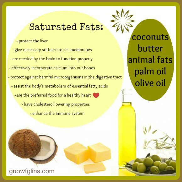 Saturated Fat Benefits 42