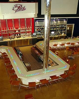 White concrete bar top in West Palm Beach FL has fiber optic lighting embedded in the concrete. & 10 best Match boxes images on Pinterest | Match boxes Art crafts ... Aboutintivar.Com