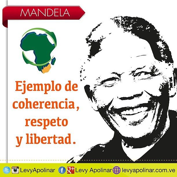 18 de julio Dia Internacional de Nelson Mandela.