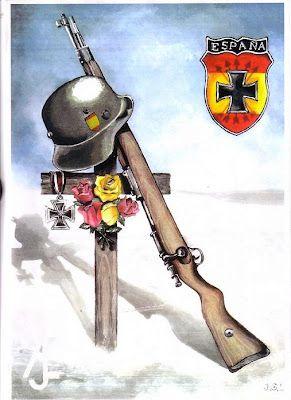 """Spain  WW2  """"Azul Division""""                                                                                                                                                                                 Más                                                                                                                                                                                 Más"""