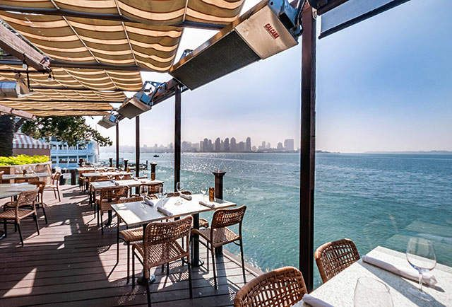San Diego's 15 Best Waterfront Restaurants | via Thrillist | #SanDiego #Waterfront #Restaurants