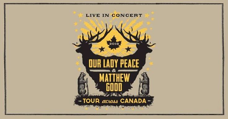 MARCH 5 / TICKETS ON SALE NEXT WEEK @livenation & evenko  present : @ourladypeace & @matthewgoodgram  Doors: 7:00pm - Show: 7:30pm . $55.00 - $85.00 (including tax and applicable surcharge) On Sale: November 24 at 10am . Prices for box office purchase / Handling fees may apply for online purchase   check out http://ift.tt/2dUFAcc for sooooo many more events in a well organized list.  portes: 19h00 - Spectacle: 19h30 5500$ - 8500$ . Mise en vente: 24 novembre à 10h . Prix lors de lachat à la…