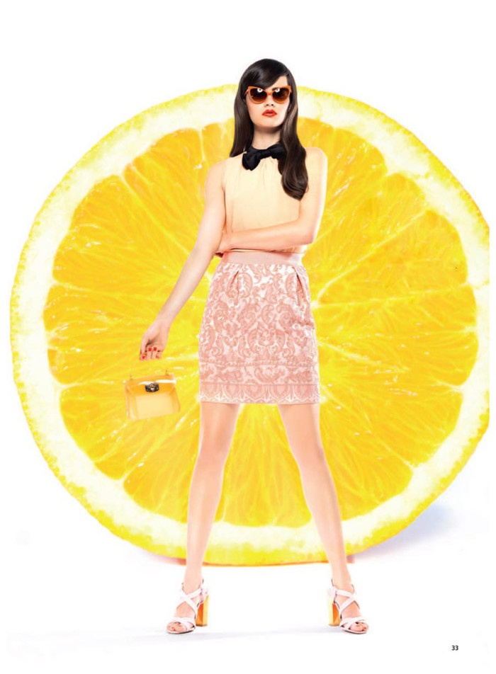 Vitamin C'  Andrea Ojdanic By Chris Singer For Madonna Magazine, February 2013