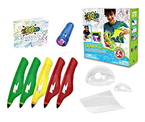 IDO3D Pen and Ink Up to 25 Projects Print System 5 Pens Brand New Toys Gifts #IDO3D