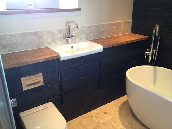 Pics Of Custom Cabinetry in a Bathroom Installation Project by UK Bathroom Guru