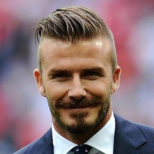 30 David Beckham Frisuren Inspiration Aus Dem Einen In Den