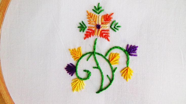 Hand Embroidery: Straight Stitch