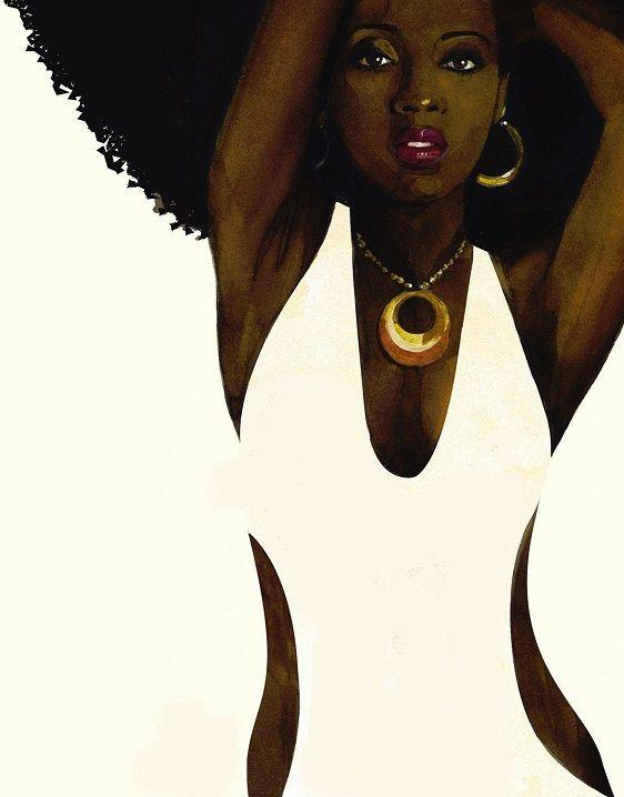 "fyblackwomenart: "" Michael Gillette – James Bond book cover """