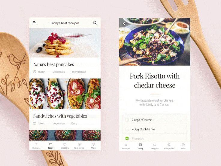 37 best bg 30 images on pinterest app design application foodlovers mobile recipes application forumfinder Images