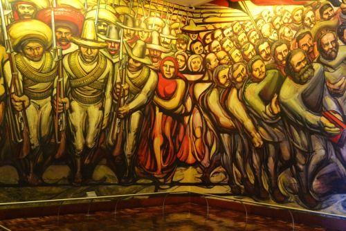 De 25 bedste id er inden for el castillo de chapultepec for El mural de siqueiros pelicula