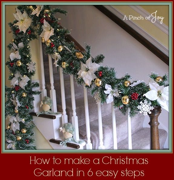 277 Best Images About Christmas: Windows, Walls & Stairs