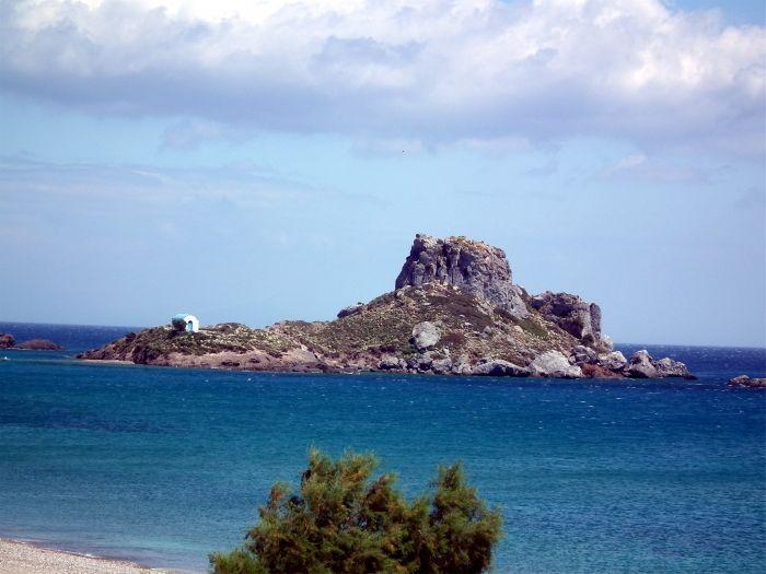 Kastri islet in Kos island
