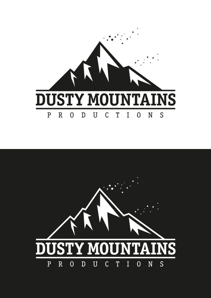 Logo Design for Dusty Mountains Film Productions