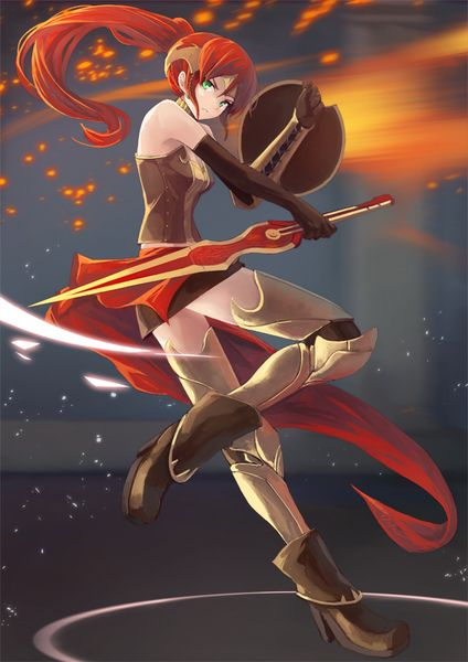 Pyrrha was so amazing:-( I still can't believe she's gone.