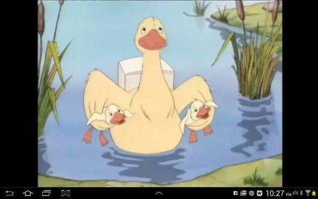 little bear duck babysitter