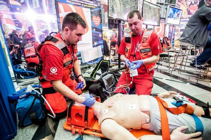 Medyczny Patrol w studio TVP podczas Finału WOŚP.