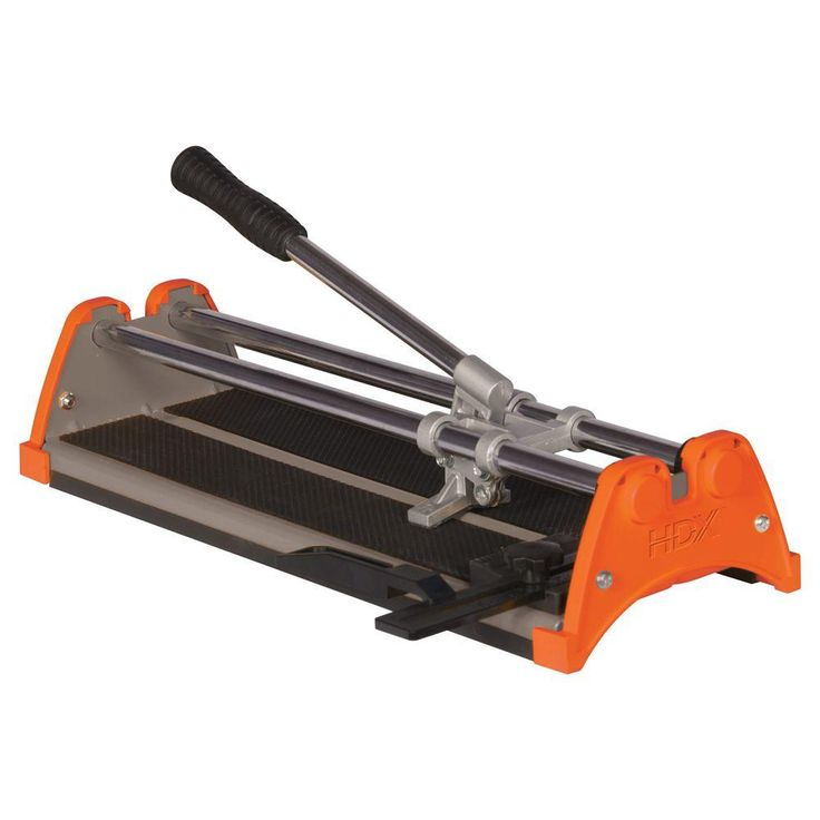 HDX 14 in. Rip Ceramic Tile Cutter-10214X - The Home Depot