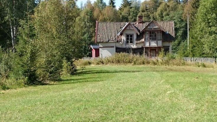 Gammelt spøkelseshus, i nærheten av Galterud i Sør-odal kommune.
