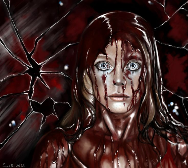 Carrie (1976) ~~ Horror/Thriller ~~ Take Carrie to the prom. I dare you! ~~ Artwork by Satellite Ghost