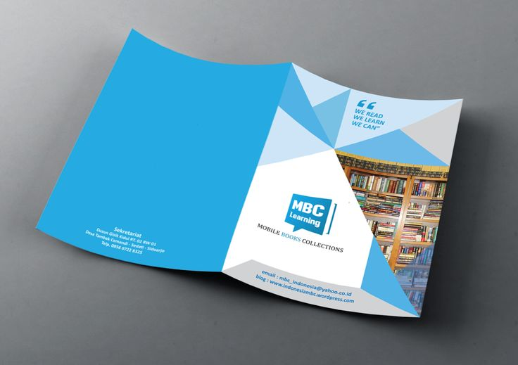 "Design Booklet Mockup ""MBC Learning - Mobile Books Collection"""