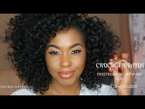 Crochet Braids || Freetress Ringlet Wand || AwEsOmE cUrLs || Divatress.com - YouTube