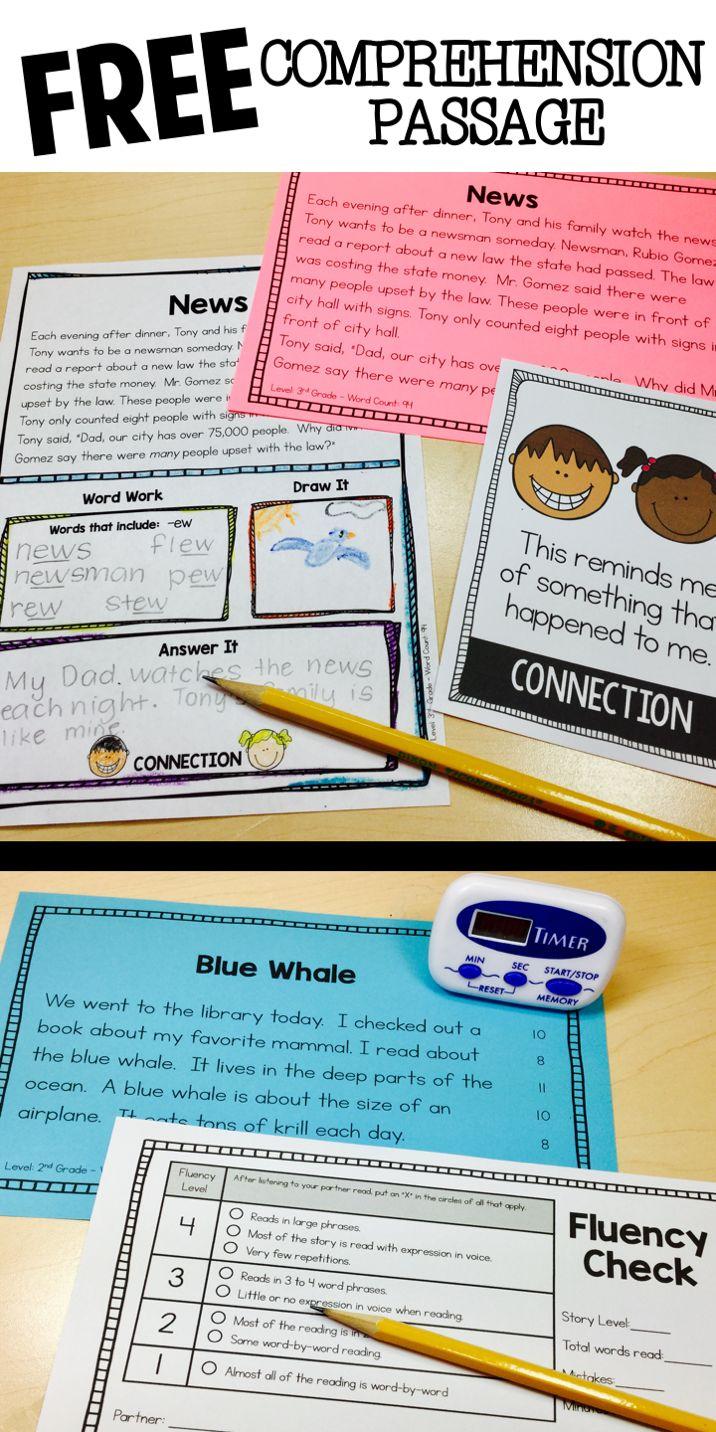 57 best 2nd Comprehension images on Pinterest | Reading ...