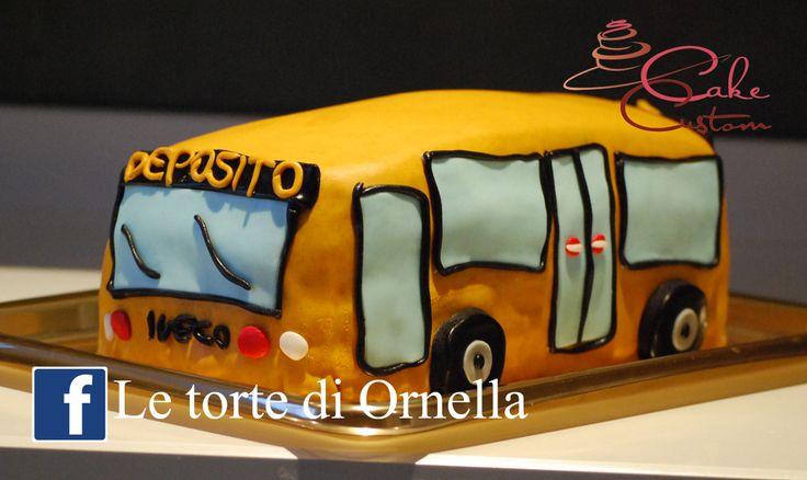 autobus cake