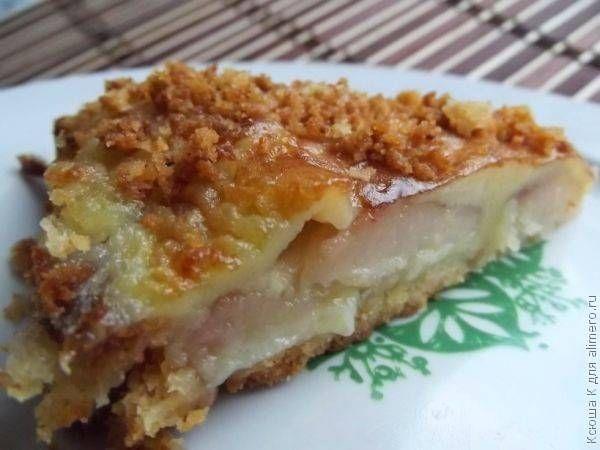 Грушевый пирог / Рецепты с фото