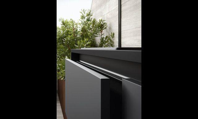 210 best cuisines images on pinterest cuisine design for Facade cuisine noir mat