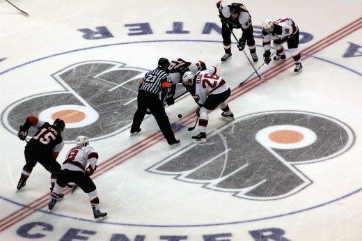 NHL - Flyers professional hockey home game