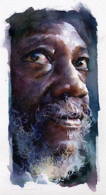 Stan Miller... watercolor: