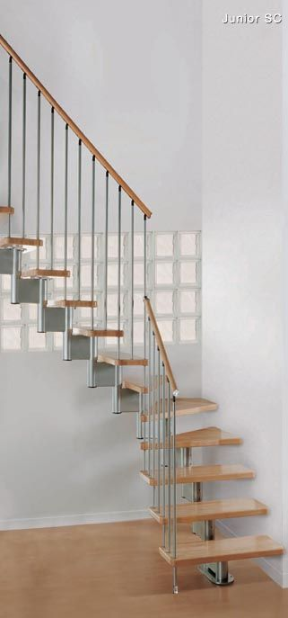 487 best images about small house on pinterest stove - Staircase design for small spaces pict ...