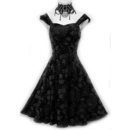 Vestido Gothic Retro
