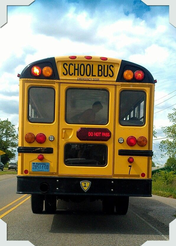 tuscaloosa county schools bus 7 making an afternoon stop w strobe light on notice led light. Black Bedroom Furniture Sets. Home Design Ideas