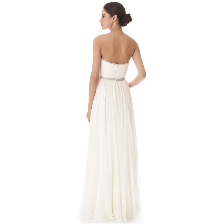 Reem Acra 'I'm Ready' size 0 new wedding dress back view on model