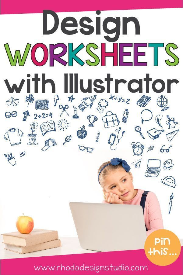 Learn How To Design Worksheets For Teachers Pay Teachers Using Adobe Illustrator Step By Ste Teacher Worksheets Teacher Pay Teachers Teacher Created Resources Teacher websites for worksheets