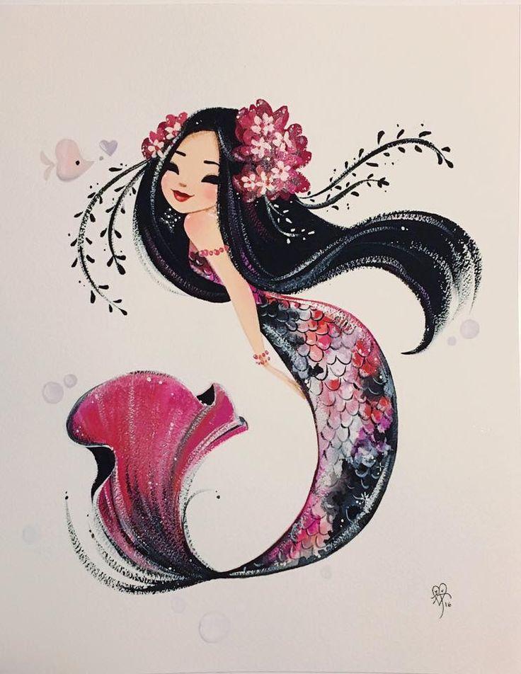 Artwork Ideas best 25+ mermaid artwork ideas on pinterest | beautiful mermaid