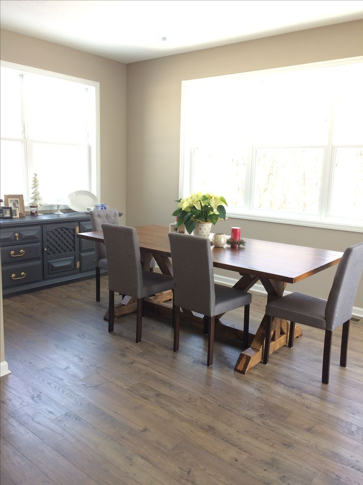 5 Ft Truss Table With Turnbuckle Hardware In A Three Brown Coloring |  Pinterest | Hardware And Construction
