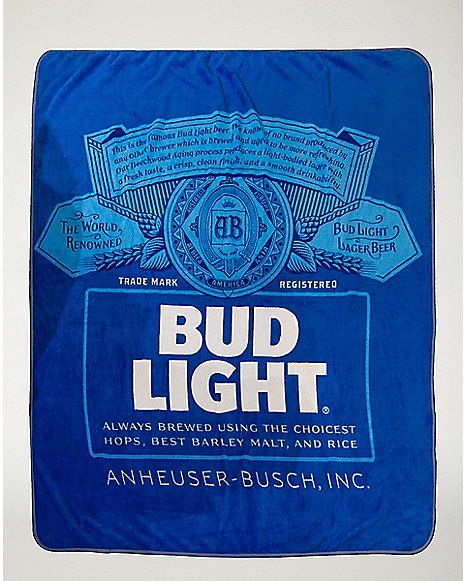 Bud Light Fleece Blanket Spencers Home Stuff Pinterest