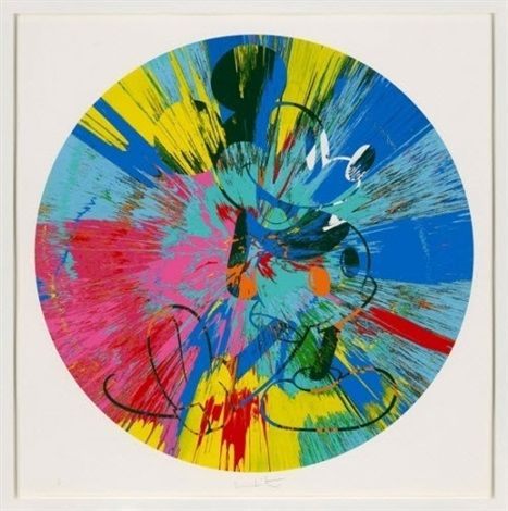 Beautiful Mickey by Damien Hirst #FredericClad