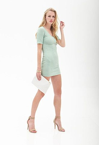 Textured Knit Dress | Forever 21 - 2055879253