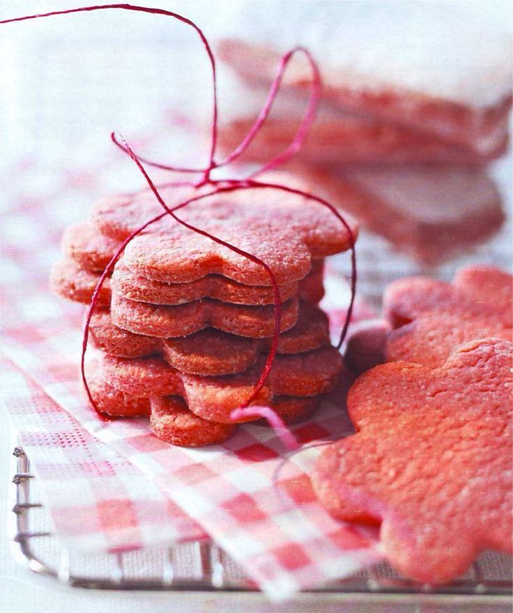Sablés aux biscuits roses de Reims