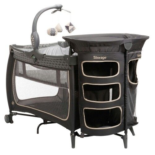 Pack N Play With Storage And Hamper This Is Perfect Baby