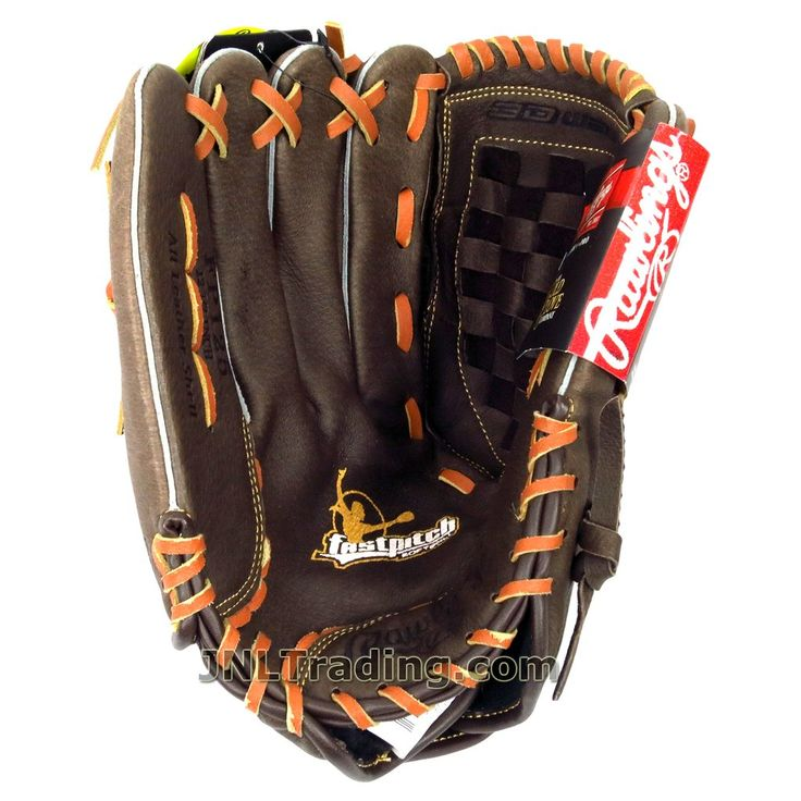 Rawlings Fastpitch The Mark of a Pro The Gold Glove Series Leather Softball Glove Mitt 12-1/2 Inch FP125 Left Hand Throw Right Hand Catch Adult Size: Regular