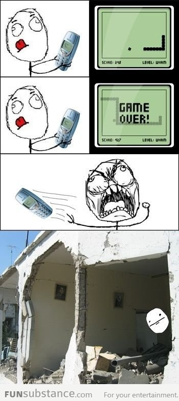 Nokia 3310: Solid like a rock.